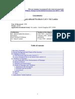 Asian Agricultural Products Ltd v Sri Lanka