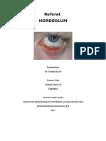 115654614 Case Report Hordeolum