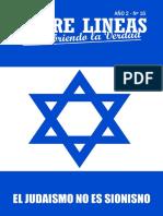 El Judaismo Es Sionismo