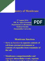 Biochemitstry of Mambrane 2014