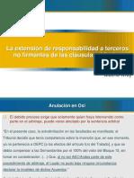 Alberto Wray -La Extension de Responsabilidad a Terceros