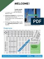 Fauntleroy Boulevard Walk Talk Boards