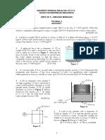 Tutorial 5 - DMCF 2213 (Buoyancy)