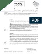 Desarrollo de una aplicación para valoración nutricional.