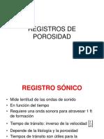 Registros geofísicos en Ingeniería Petrolera