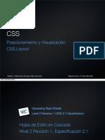 CSS Posicionamiento y Visualización