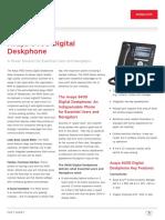 9408 Digital Deskphone Fact Sheet