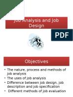 Job Analysis and Job Design 1
