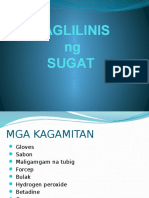 wound dressing tagalog