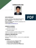 Modelo CV Estudiantes