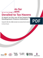 Derailed to Tax Havens