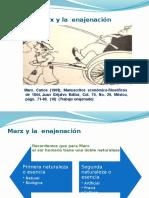 Marx y La Enajenacion Presentacion Uam