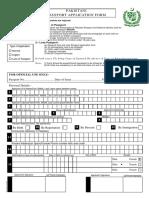 Passport Form