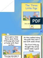 three little pigs story book