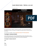 Torchlight 2 Outlander Builds Guide