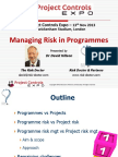 M2 Managing Risk in Programmes Slides