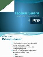 M13.Akustik Lingkungan_Isolasi Bunyi.pptx