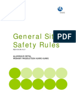 General Site Safety Rules Rev 21