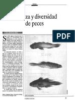 1993 Riqueza y Diversidad de Peces
