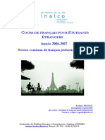 7.Brochure_Cours de Français_2016-2017 Docx