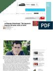 Juan Mayorga (Dramaturgo)_ _Hay Ignorancia y Desprecio Del Poder Contra El Teatro_ _ Diariocrítico