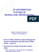 Bosnia Water Information System