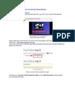 Cara Convert Video Youtube Ke Format Mp3 Tanpa Software