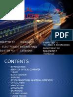 My Seminar Optical Computer