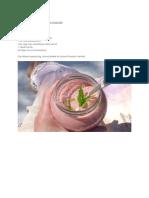 Bodzavirágos eperturmix