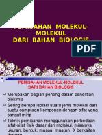Pemisahan Molekul-molekul Amy
