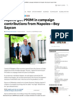 Aquino got P90M in campaign contributions from Napoles—Boy Saycon _ Inquirer News.pdf