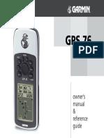 GPS 76 Manual