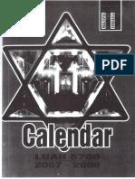 """Preot Leon Dura in ,,Calendarul ebraic"""" (I)"""