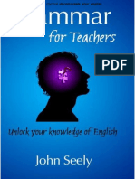 Grammar for Teachers - Unlock Your Knowledge Of