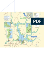 Lake Oroville State Recreaion Area Park Map