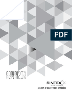 Sintex Annual Report 2015-16 AGM Notice