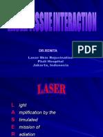 Laser Tissue Interaction (2)
