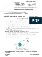 Ec6004 Satellite Communication Syllabus | Satellite