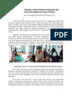 Cibiyuk 2-Reportase Minggu-2 (Masyarakat Menuju Sehat Melalui Posyandu Dan Reorganisasi Karangtaruna Desa Cibiyuk