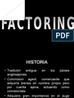 Presentacion de Factoring