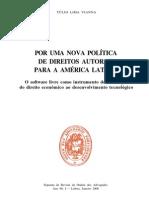 Por uma nova política de Direitos Autorais para a América Latina