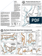 Big Basin Redwoods State Park Campground Map