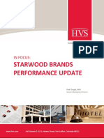 HVS - In Focus_ Starwood Brands Performance Update