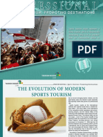 Sports Tourism Fast Developing Worldwide