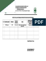 2.3.3.1BUKTI EVALUASI THDP Struktur Organisasi Pkm