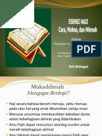 01. Esensi Haji