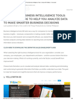 54 Top Business Intelligence Tools_ Compare BI Software - Docurated