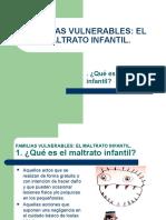 Maltrato Infantil y Familias Vulnerables. Ifmr.