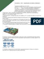 Questionário02-Recursos Hídricos