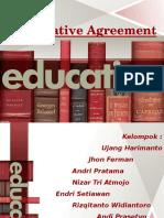Bahasa Inggris ( Affirmative Agreement )